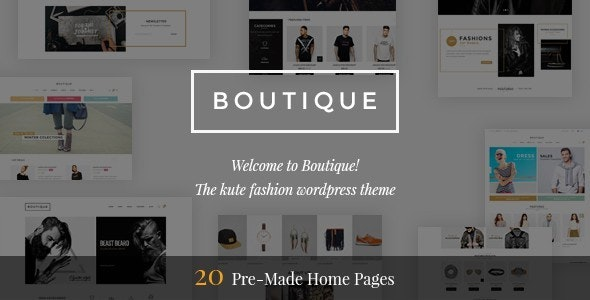 Boutique - Kute Fashion WooCommerce Theme ( RTL Supported ) 5