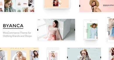 Byanca - Modern WooCommerce Theme for Clothing Brands and Shops 4