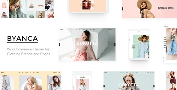 Byanca - Modern WooCommerce Theme for Clothing Brands and Shops 3