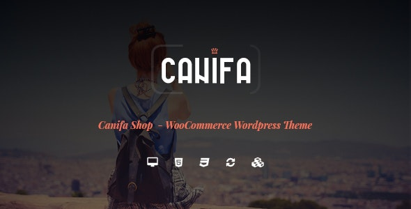 Canifa - The Fashion WooCommerce WordPress Theme 1