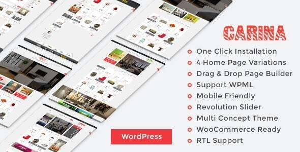 Carina WooCommerce WordPress Theme 3