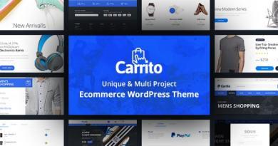 Carrito - WooCommerce WordPress Theme 3