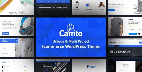 Carrito - WooCommerce WordPress Theme 1