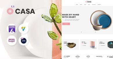 Casa - Furniture Ceramics WooCommerce Theme 6
