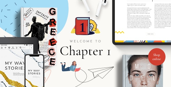 ChapterOne - Bookstore and Publisher Theme 1