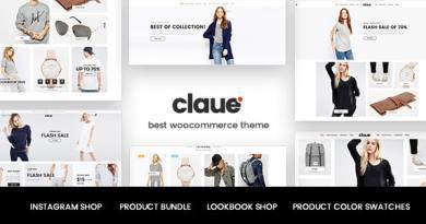 Claue - Clean, Minimal Elementor WooCommerce Theme 2