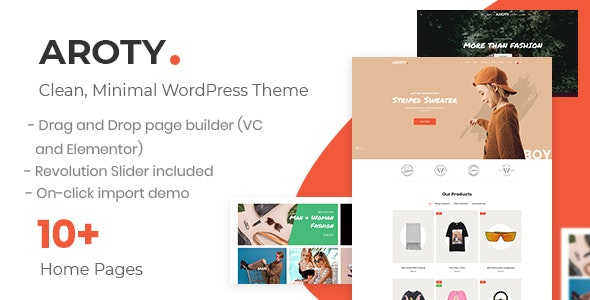 Clean Minimal Shop WordPress WooCommerce Theme 10