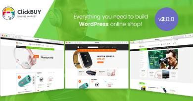 ClickBuy - Multi Store Responsive WordPress Theme 1