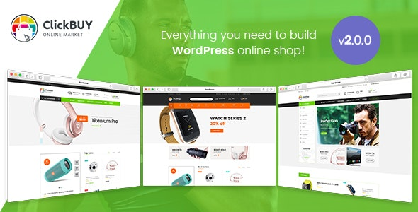 ClickBuy - Multi Store Responsive WordPress Theme 4