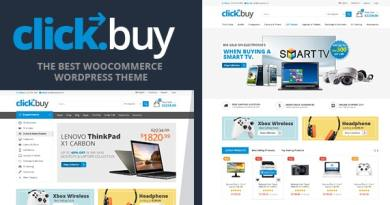Clickbuy - WooCommerce Responsive Digital Theme 3