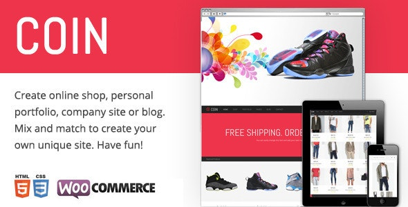 Coin - Responsive Multi-Purpose Theme 5