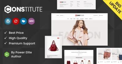 Constitute - WooCommerce Responsive Theme 4