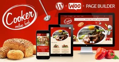 Cooker - Responsive Online Restaurant, Cafe Bar 2