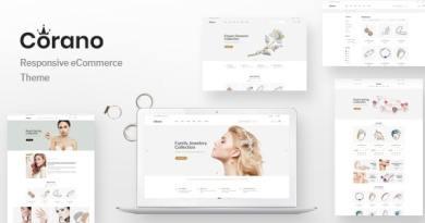 Corano - Jewellery Theme for WooCommerce WordPress 35
