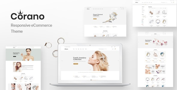Corano - Jewellery Theme for WooCommerce WordPress 21