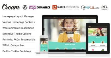 Cream - WooCommerce WordPress Theme 5