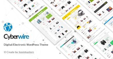 CyberWire - WooCommerce AJAX WordPress Theme 2