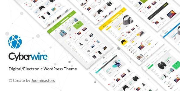 CyberWire - WooCommerce AJAX WordPress Theme 1