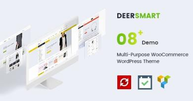 DeerSmart - Multipurpose Responsive WooCommerce WordPress Theme 4