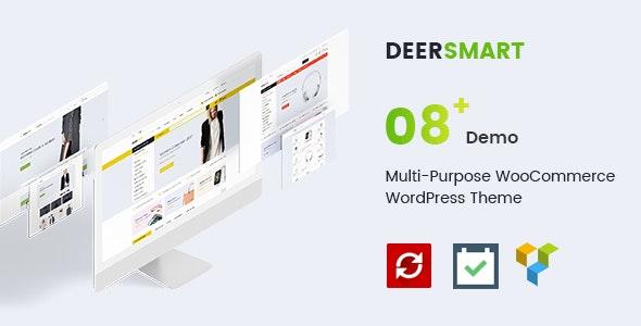 DeerSmart - Multipurpose Responsive WooCommerce WordPress Theme 1