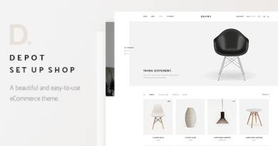 Depot - eCommerce Theme 2