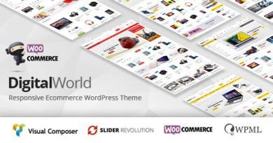 Digitalworld - Multipurpose WordPress Theme ( RTL Supported ) 4