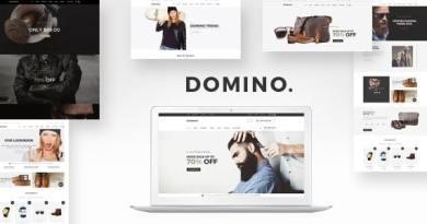 Domino - Fashion Responsive WordPress Theme 3