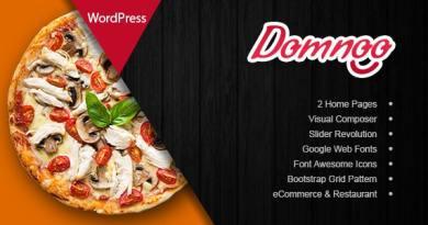 Domnoo - Pizza & Restaurant WordPress Theme 4