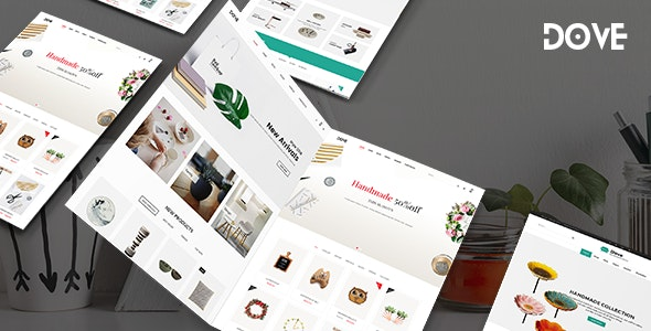 Dove | Handmade Crafts WooCommerce WordPress Theme 1