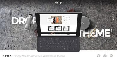 Drop - Shop WooCommerce WordPress Theme 4
