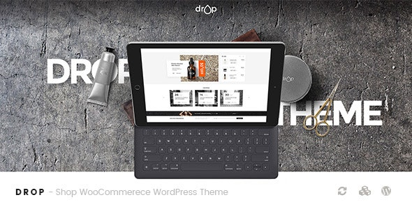 Drop - Shop WooCommerce WordPress Theme 1