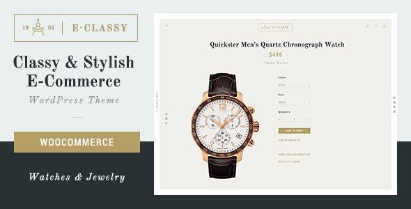 eClassy - eCommerce Classy Pro WordPress Theme 1