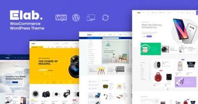 eLab - Multi Vendor Marketplace WordPress Theme 2