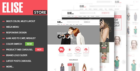 Elise - Fashion WooCommerce WordPress Theme 2