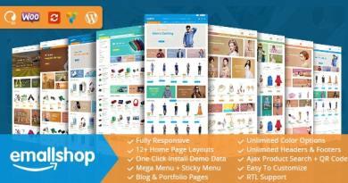 EmallShop - Responsive WooCommerce WordPress Theme 2