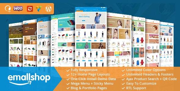 EmallShop - Responsive WooCommerce WordPress Theme 1