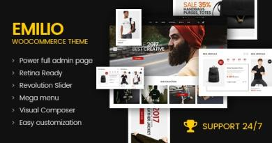 Emilio - Multipurpose Premium Responsive WordPress Theme 2