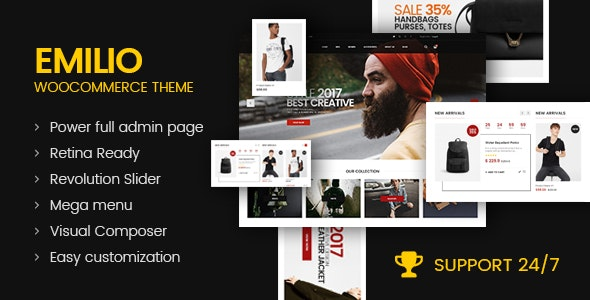Emilio - Multipurpose Premium Responsive WordPress Theme 18