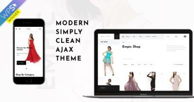 Empic - Ajax Powered Multi-Concept WooCommerce Theme 3