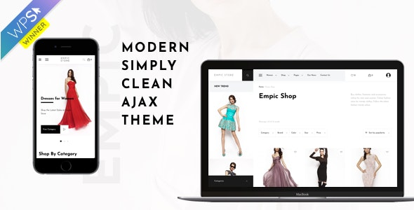 Empic - Ajax Powered Multi-Concept WooCommerce Theme 1