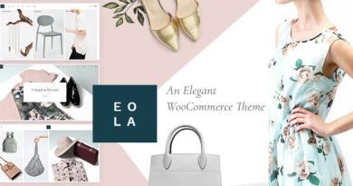 Eola - Elegant WooCommerce Theme 4