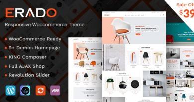 Erado - eCommerce WordPress Theme 4