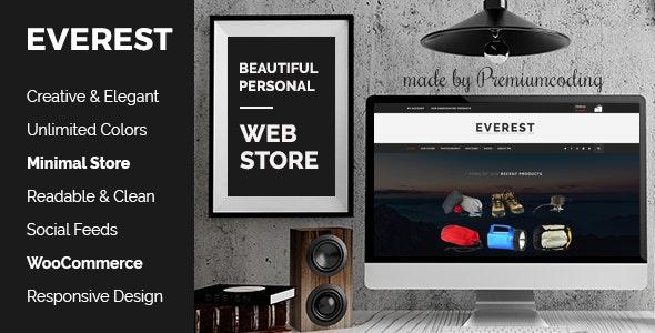 Everest - Minimal Ecommerce WordPress Theme 23