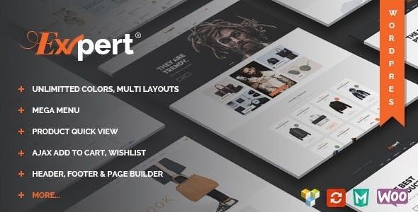Expert - Clean eCommerce WordPress Theme 13