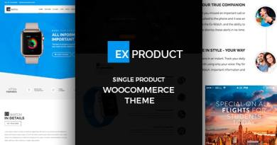 ExProduct - Single Product Theme 2