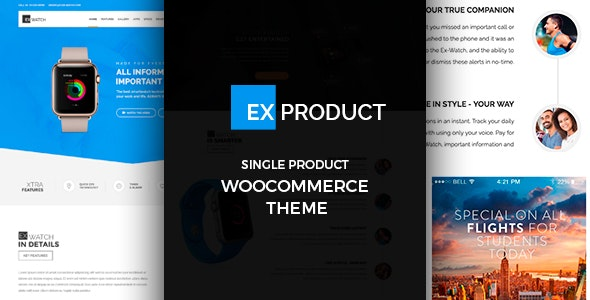 ExProduct - Single Product Theme 1