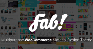 FAB! - Material Design WooCommerce WordPress Theme 2