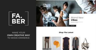 Faber -  Fashion & Clothing Shop for Woocommerce 2