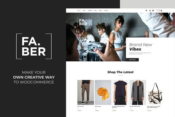 Faber - Fashion & Clothing Shop for Woocommerce 1