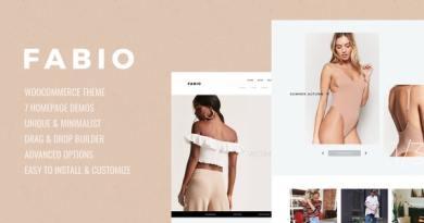 Fabio WooCommerce Shopping Theme 2
